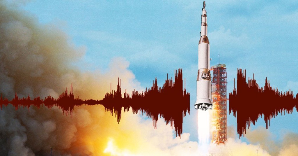 How The Noise Of Big Rockets Breaks Apart Buildings