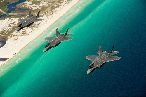 You can't replace the F-35 with an F-18 any more than you can replace an aircraft carrier with a cruise ship