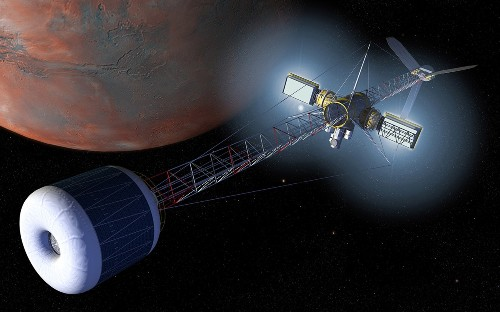 Turning water into oxygen in zero gravity could mean easier trips to Mars