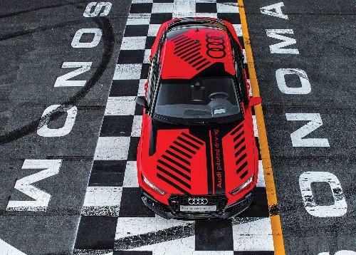 A Human Driver Vs. Robby The Autonomous Racecar