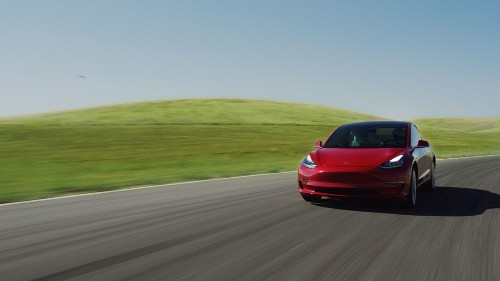 Tesla is making the Model 3 faster with a software update