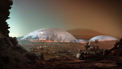 Check out the United Arab Emirates' plans for building a Martian city—right here on Earth