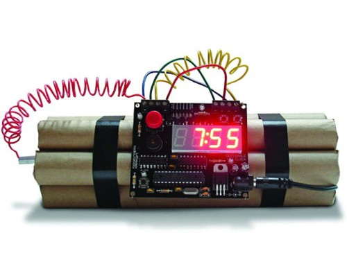 Make Your Mornings Explosive With a Defusable Alarm Clock