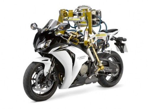 Robot Rides Motorcycles Efficiently, Terrifyingly