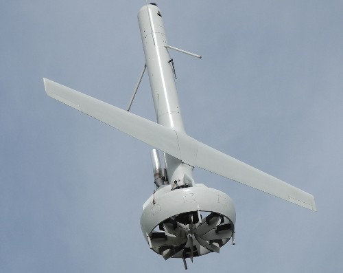 New Drone Takes Off Like A Helicopter, Flies Like A Plane