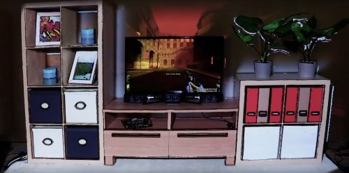 Microsoft's IllumiRoom Rolls Virtual Grenades Straight Into Your Living Room