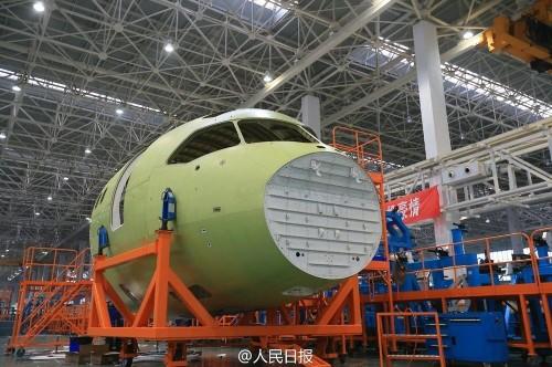 China's next generation jetliner takes next big step