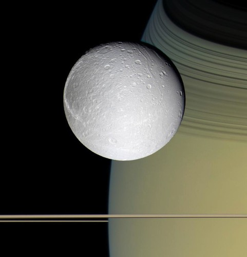 Saturn's Moon Dione May Have An Underground Ocean