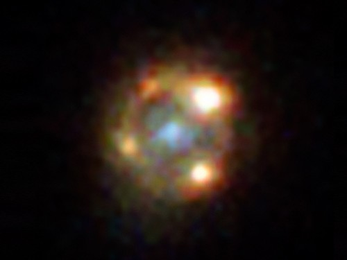 A warp in space-time just gave us four views of one exploding star