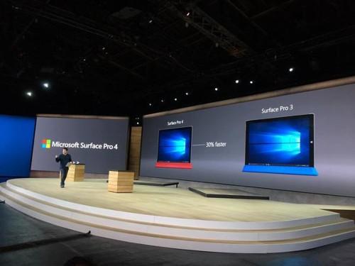 Microsoft Announces New Surface Pro 4 Hybrid Talet PC