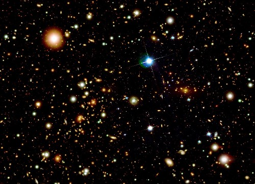 New Theory: The Universe Isn't Expanding, It's Just Gaining Mass