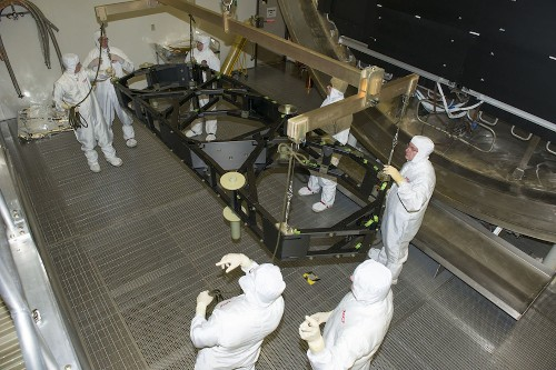 BigPic: The James Webb Space Telescope, Ready To Be Frozen