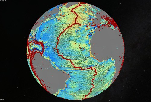 Satellite Data Maps Sea Floor's Hidden Depths