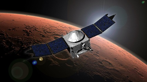 NASA's MAVEN Orbiter Celebrates One Year Around Mars
