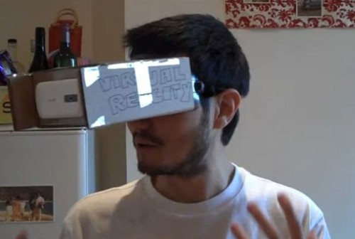 Cardboard + Smartphone = Sweet DIY Augmented Reality Goggles