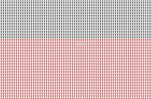 Every Single Person In The World On One Chart
