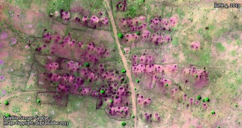 Before-And-After Satellite Images Show Villages Destroyed In Darfur