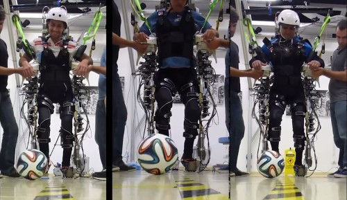 How The World Cup's Brain-Controlled Exoskeleton Works [Video]