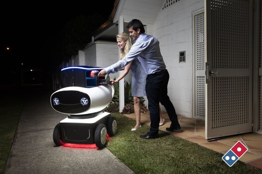 Delivery Robot - Magazine cover