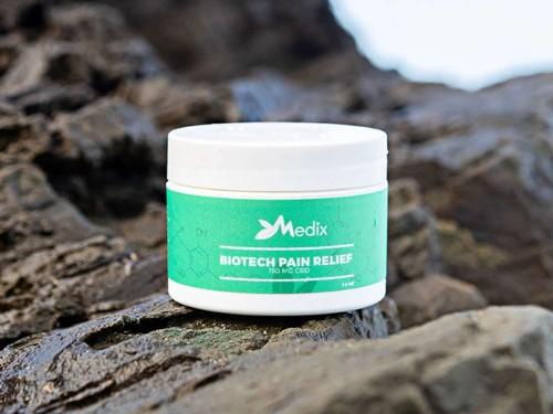 Medix CBD cream provides powerful pain relief wherever you need it