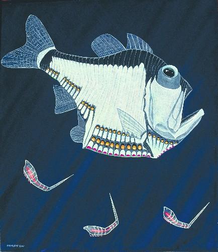 The Strange Beauty Of Bioluminescent Fish