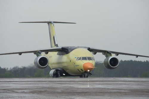 A Chinese Company Bets on an Ukrainian Cargo Plane