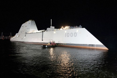 Inside The Zumwalt Destroyer