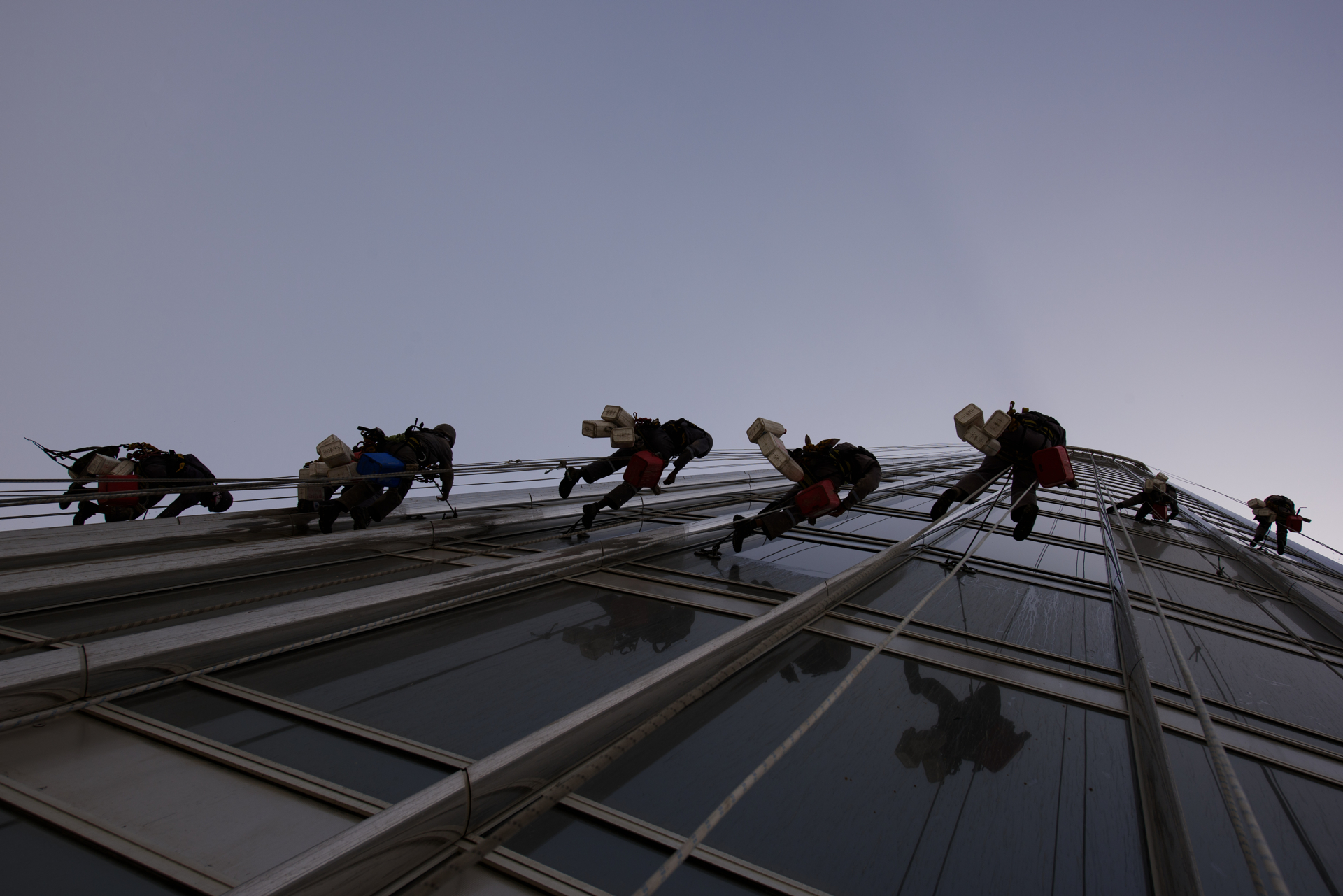 THE SELECTS: Hanging From Burj Khalifa