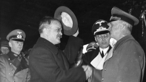 This pact between Hitler and Stalin paved the way for WWII