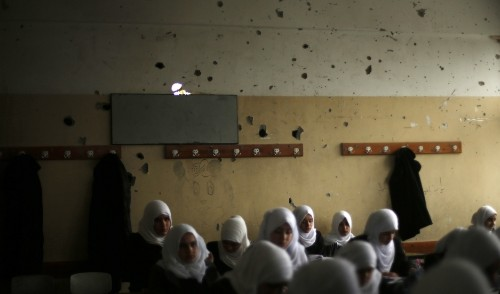 There's an international effort to make safe schools in conflict zones