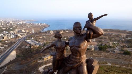 North Korea's biggest export? Giant statues. To African dictators.