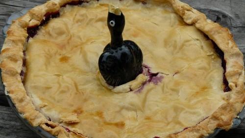 There was a real recipe for 'Four and Twenty Blackbirds Baked in a Pie'