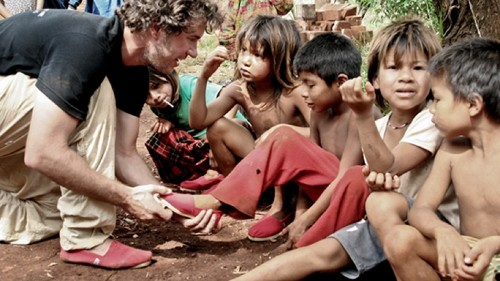 TOMS Shoes rethinks its 'buy one, give one' model of helping the needy