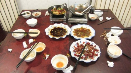"""No-waste lunch: China's """"Clean Your Plate"""" campaign"""