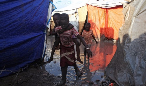 A million South Sudanese are at risk of starving