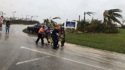 Bahamas officials search for storm survivors as Dorian heads for Florida, Georgia
