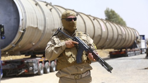 After ISIS advance, Kurds win back important control over northern Iraq's oil