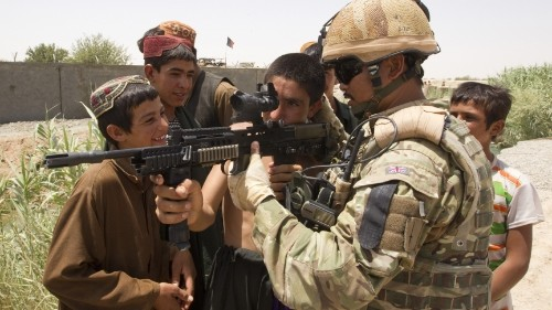 How the war in Afghanistan shaped the British Army's slang