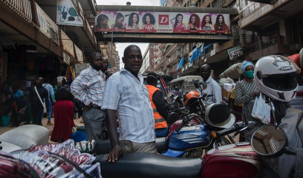 After months without work, Uganda's boda boda drivers hit the road