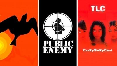 Public Enemy's groundbreaking album, Maya Angelou's classic memoir and Angie Thomas on TLC