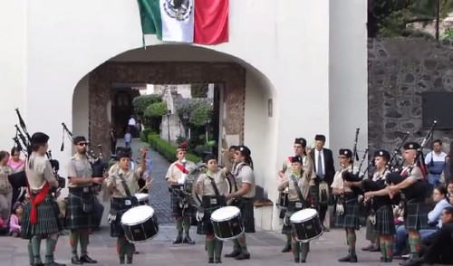On St. Patrick's Day, Mexico remembers the Irishmen who fought for Mexico against the US