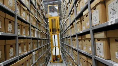 Israel's modern history sits in a Jerusalem warehouse, waiting to be declassified