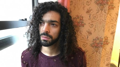 This Egyptian musician's passport was revoked for his political songs. He still can't wait to go home again.