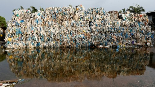 America's grungy 'recycled' plastic is creating wastelands in Asia
