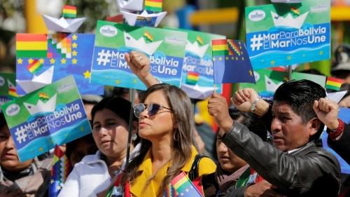Every year on 'Día Del Mar,' Bolivia celebrates the coastline they lost