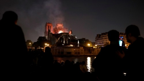 Why are we so moved by the plight of the Notre Dame?