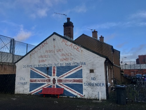 Northern Ireland still divided by peace walls 20 years after conflict