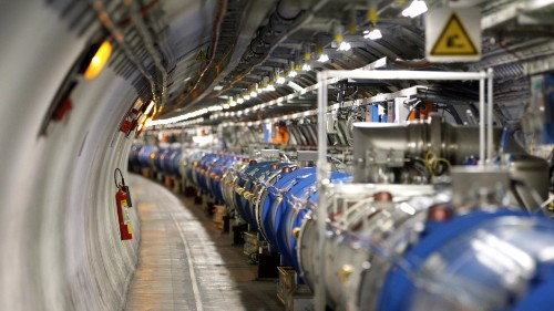 In small collisions, scientists find big new physics questions