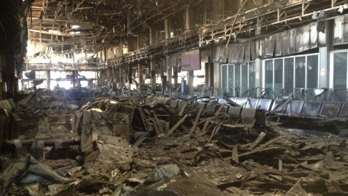 Tripoli's airport has become ground zero for military clashes in Libya