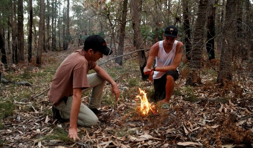 Reviving traditional fire knowledge in Australia: 'Fire is something we live with'